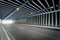 Traffic tunnel Royalty Free Stock Images