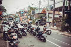 Traffic of Ubud Stock Images