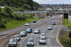 Traffic in the UK Stock Photos