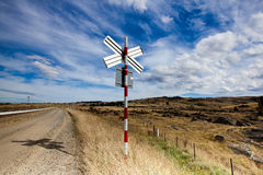 Traffic undertecknar Fotografering för Bildbyråer