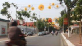 Traffic in Vietnam. HAI DUONG, VIETNAM, Traffic in Vietnam on October,9, 2014 in Hai Duong, Vietnam stock footage