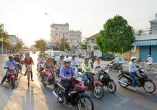 Traffic in Vietnam Stock Photo
