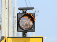 Traffic warning light Royalty Free Stock Image