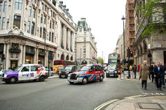 Traffic in Westminster Royalty Free Stock Photography