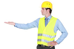 Traffic worker Royalty Free Stock Images