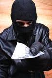 Trafficante di droga Immagine Stock