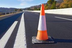 Traffichi i coni Fotografia Stock