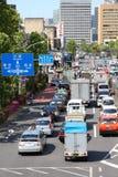 Traffichi a Tokyo Fotografia Stock