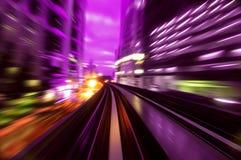 Traffici di notte Immagine Stock Libera da Diritti