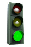 TrafficLightGreen Photos libres de droits
