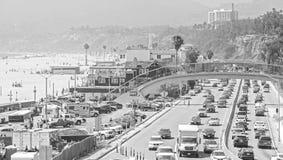 Traffico all'itinerario dello stato 1 (SR 1) Immagini Stock Libere da Diritti
