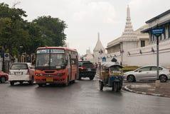 Traffico a Bangkok Fotografie Stock