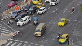 Traffico a Bangkok archivi video