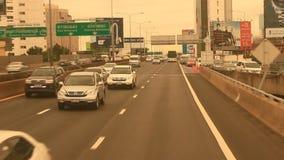 Traffico a Bangkok, Tailandia archivi video