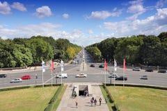Traffico a Berlino Fotografia Stock Libera da Diritti
