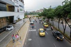 Traffico in Bucaramanga Immagine Stock