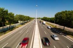 Traffico chiaro Fotografia Stock Libera da Diritti