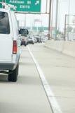 Traffico in Chicago Fotografia Stock Libera da Diritti
