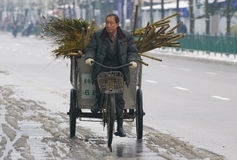 Traffico cinese Fotografia Stock