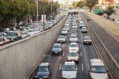 Traffico in Città del Messico immagine stock libera da diritti