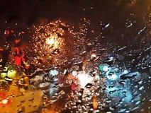 Traffico cittadino astratto, arte digitale Fotografia Stock