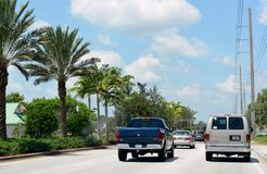 Traffico costiero Fotografie Stock