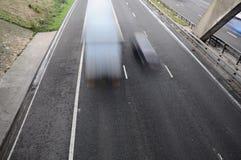 Traffico d'accelerazione Fotografia Stock Libera da Diritti