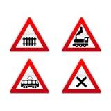Traffico dei segni Fotografia Stock
