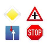 Traffico dei segni Immagini Stock