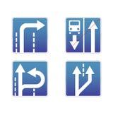 Traffico dei segni Illustrazione Vettoriale
