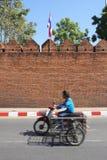 Traffico del Chiang Mai, Tailandia Fotografia Stock Libera da Diritti