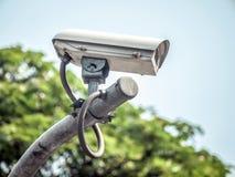 Videocamera di sicurezza del CCTV Fotografia Stock Libera da Diritti