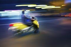 Traffico del motorino Immagini Stock