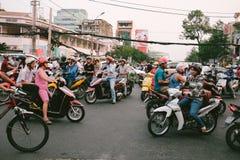 Traffico del Vietnam Immagine Stock