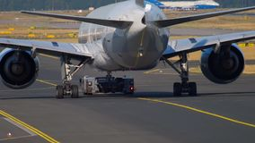 Traffico dell'aeroporto di Francoforte video d archivio