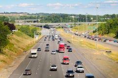 Traffico dell'autostrada senza pedaggio Immagine Stock Libera da Diritti