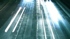 Traffico dell'autostrada senza pedaggio di Los Angeles 110 (HD) video d archivio