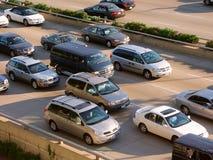 Traffico dell'azionamento del puntello del lago chicago Fotografie Stock