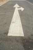 Traffico della freccia Fotografia Stock