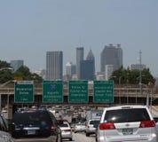 Traffico di Atlanta Fotografie Stock