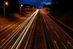Traffico di automobile Fotografie Stock