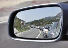 Traffico di automobile Fotografie Stock Libere da Diritti