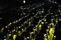 Traffico di Bangkok Immagini Stock