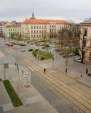 Traffico di Brno Immagini Stock