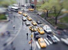 Traffico di città immagine stock