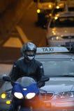 Traffico di Crosstown Immagini Stock