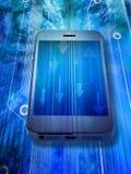 Traffico di dati del telefono cellulare Fotografia Stock Libera da Diritti
