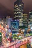 Traffico di Gangnam Immagini Stock