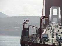 Traffico di golden gate bridge Immagini Stock Libere da Diritti