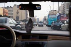 Traffico di Il Cairo Immagine Stock